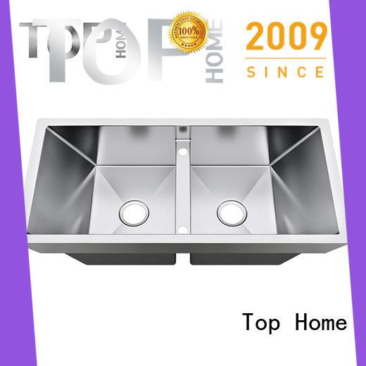 Top Home utility top mount double sink handmade cook