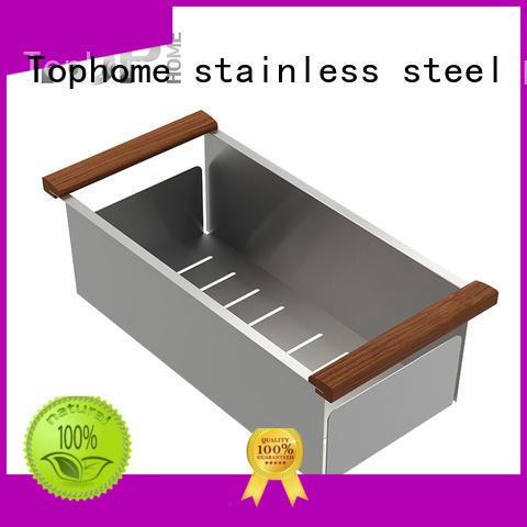 Top Home wholesales over sink colander strainer outdoor countertop