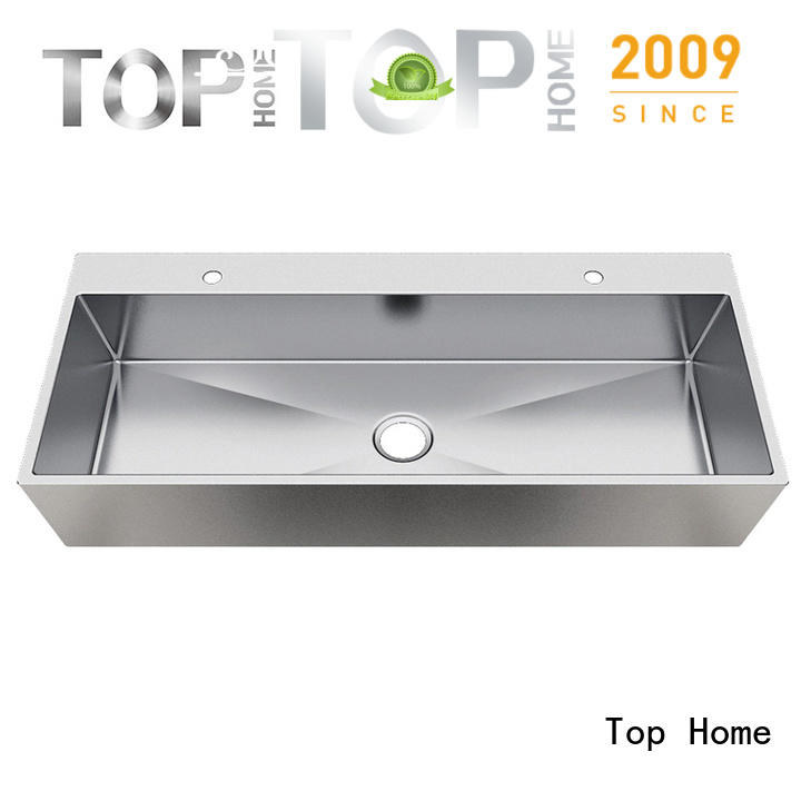 Top Home good quality stainless steel bathroom sink durability for Lavatory