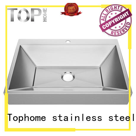 Top Home durability stainless steel sink durability for bathroom