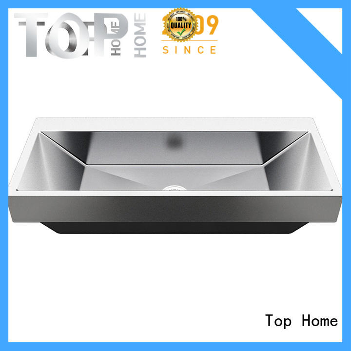 Modern stylish stainless bathroom sink quality basin for toilet