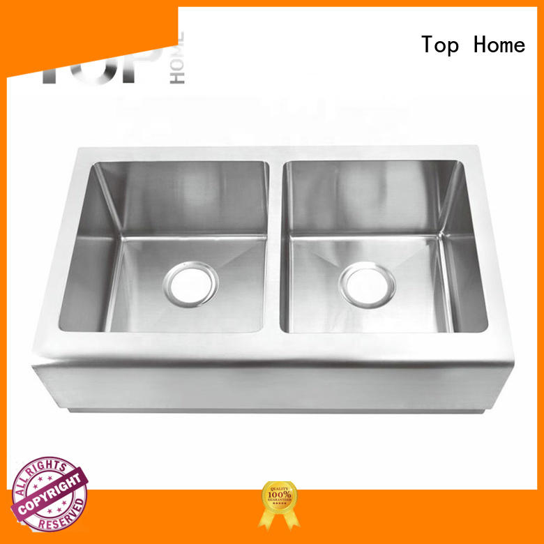 good quality kitchen apron sink durable for countertop