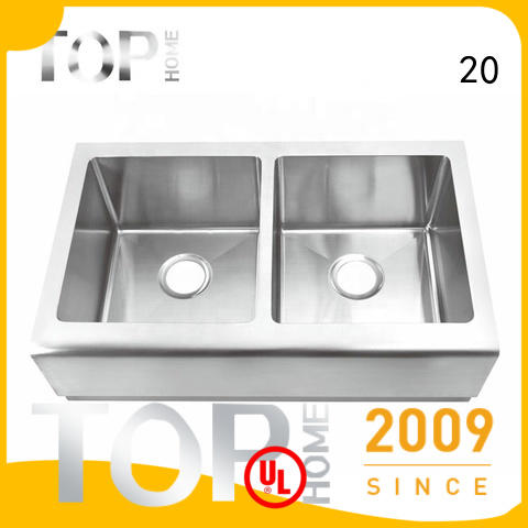good quality stainless farmhouse sink thap3620bl easy cleanning for kitchen