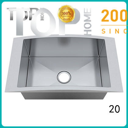 Double Bowls top mount kitchen sinks handmade online villa