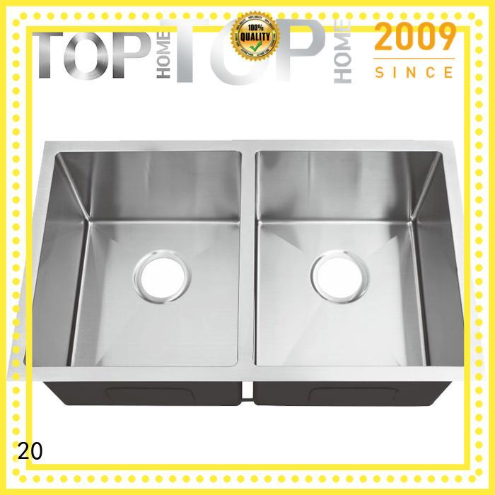 Top Home easy to clean undermount farmhouse sink durability outdoor countertop