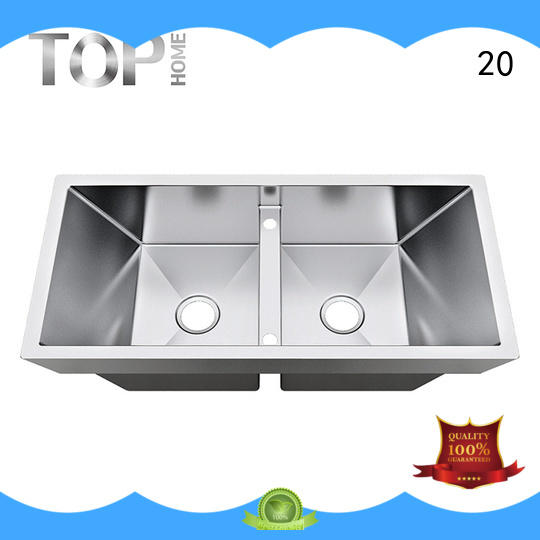 Top Home convenience top mount farm sink easy cleaning villa