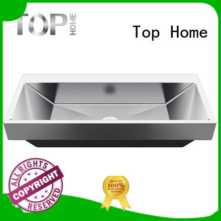 bowl small stainless steel bathroom sink 304 washroom Top Home