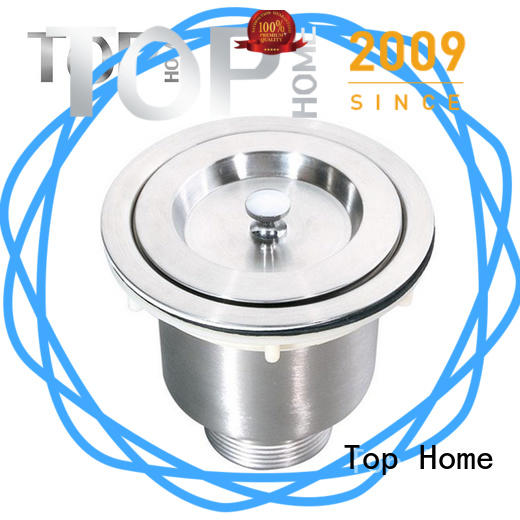 Top Home steel sink strainer basket easy installation villa