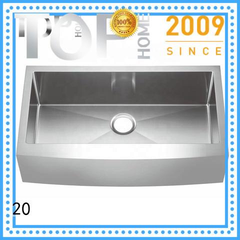 bowls zero radius kitchen sinks thap3620bl for countertop Top Home