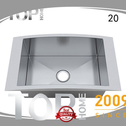 Top Home mount top mount farmhouse sink easy installation kitchen