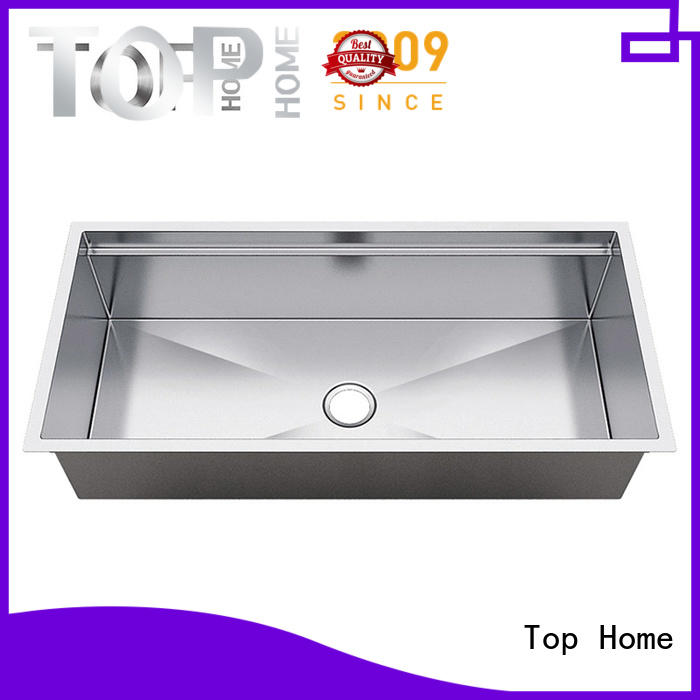 Top Home handmade double bowl kitchen sink