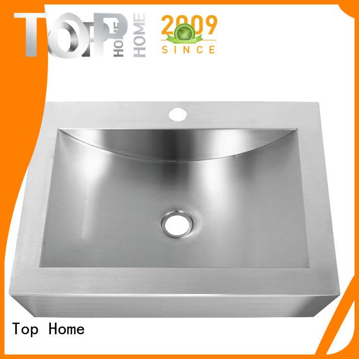 Top Home clean stainless steel sink fixtures