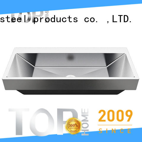 Top Home good quality stainless bathroom sink wholesale for laundry
