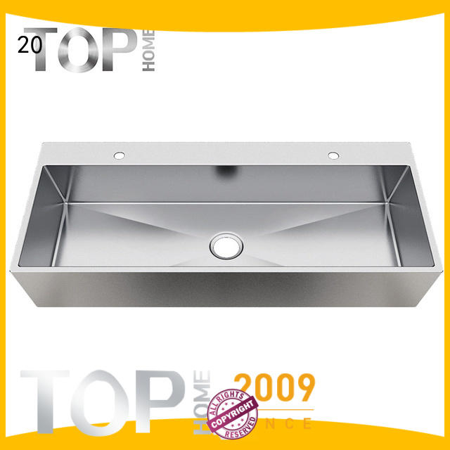 Top Home Modern stylish stainless steel bathroom sink fixtures for Lavatory