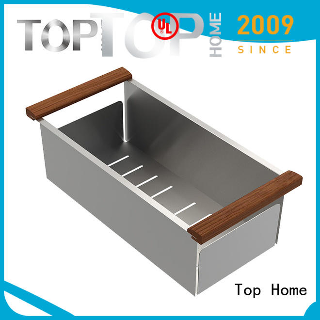 Top Home convenience over the sink colander factory price for kitchen item