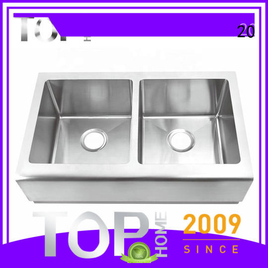 Top Home stainless farm sink easy cleanning for restaurant