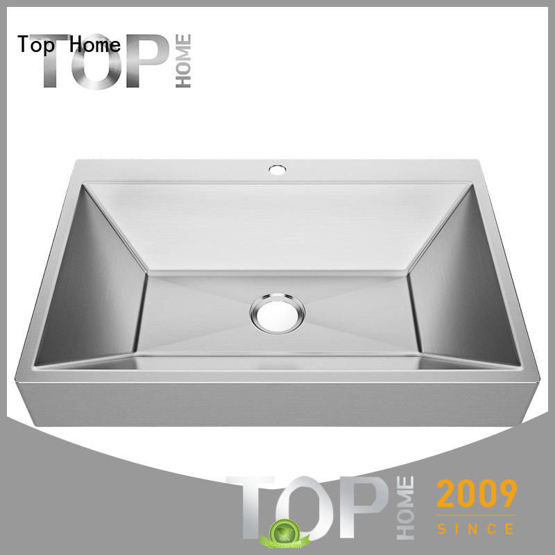 Top Home Modern stylish kitchen sink sizes basin for toilet
