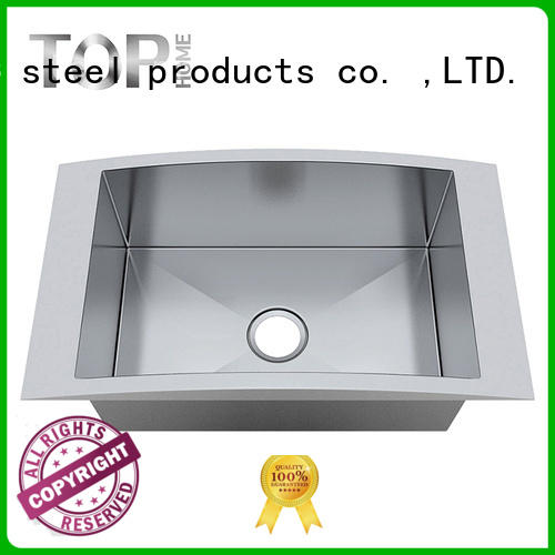 single single bowl top mount sink easy installation villa Top Home