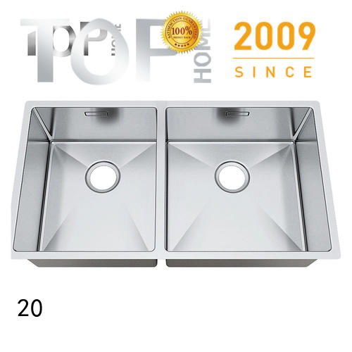 Top Home easy to clean black undermount sink highest quality kitchen