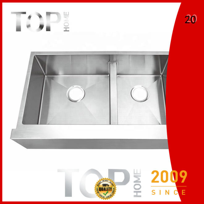 Top Home stainless steel farmhouse sink for sale for kitchen