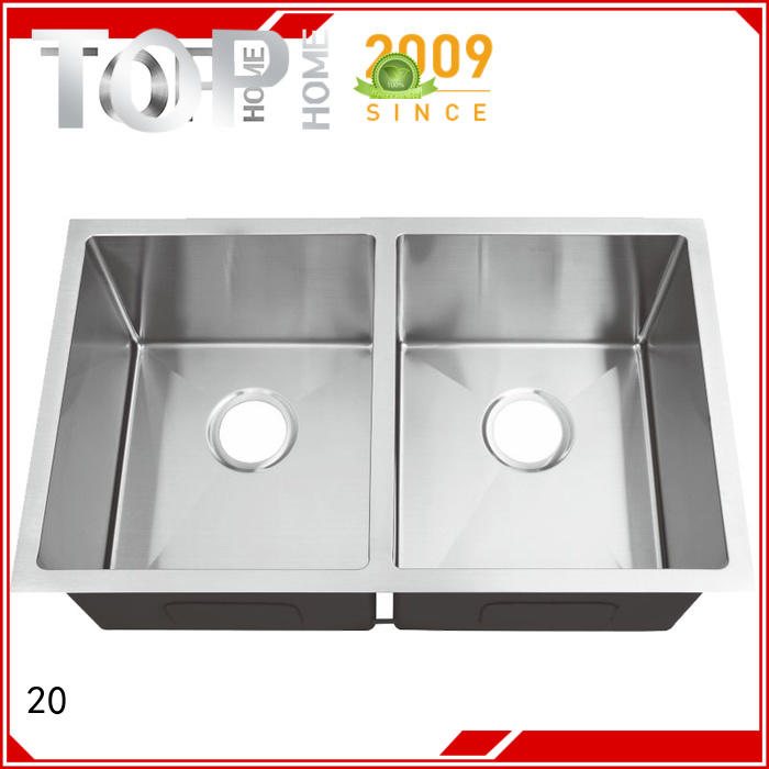 Top Home industrial stainless steel bar sink highest quality for cooking