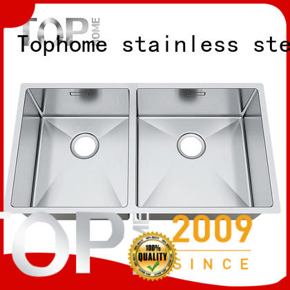 Top Home utility undermount stainless steel kitchen sink durability for cooking