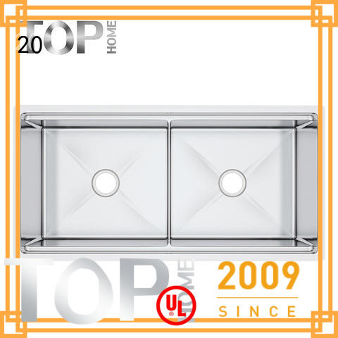 Top Home multifunctional undermount stainless steel kitchen sink metal for outdoor