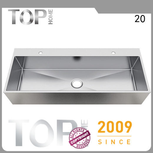 Top Home durable commercial stainless steel bathroom sinks fixtures for bathroom