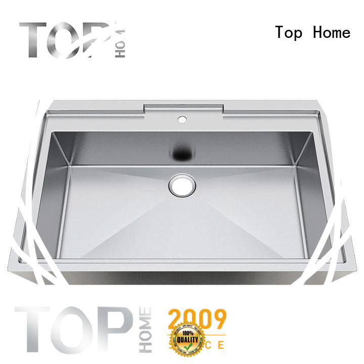 Top Home single stainless steel undermount bathroom sink durability for bathroom