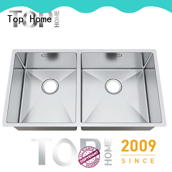 Top Home handmade undermount farmhouse sink easy installation restaurant