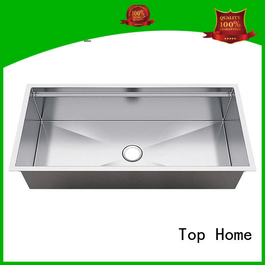 Top Home multifunctional double bowl stainless steel kitchen sink 16 for cooking