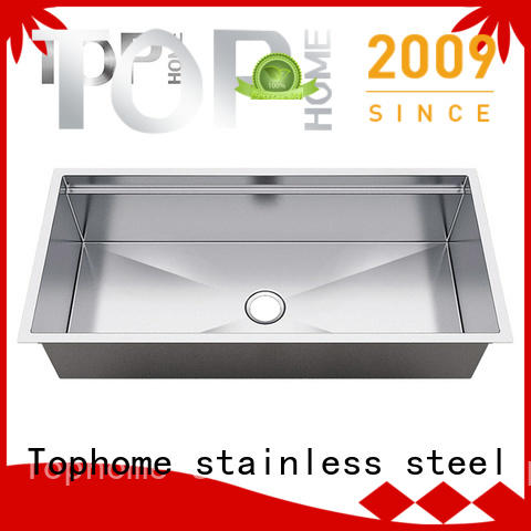 Top Home brushed stainless steel under mount sink manufacturer for kitchen