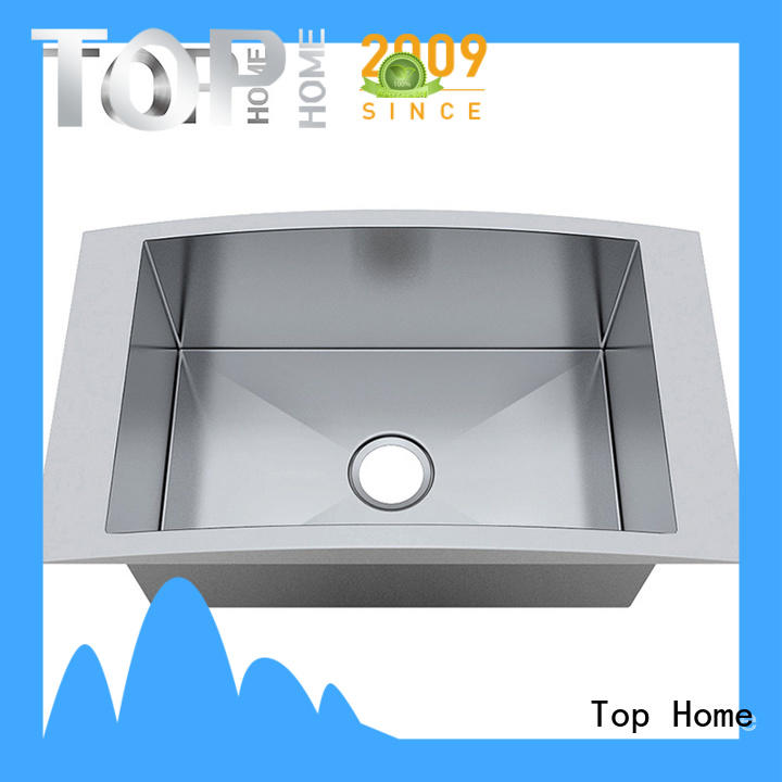 Top Home Stainless steel top mount stainless steel sink easy installation villa