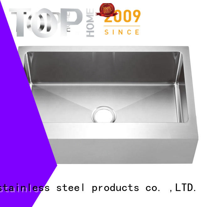 Top Home perfect stainless steel farmhouse sink supplier for kitchen