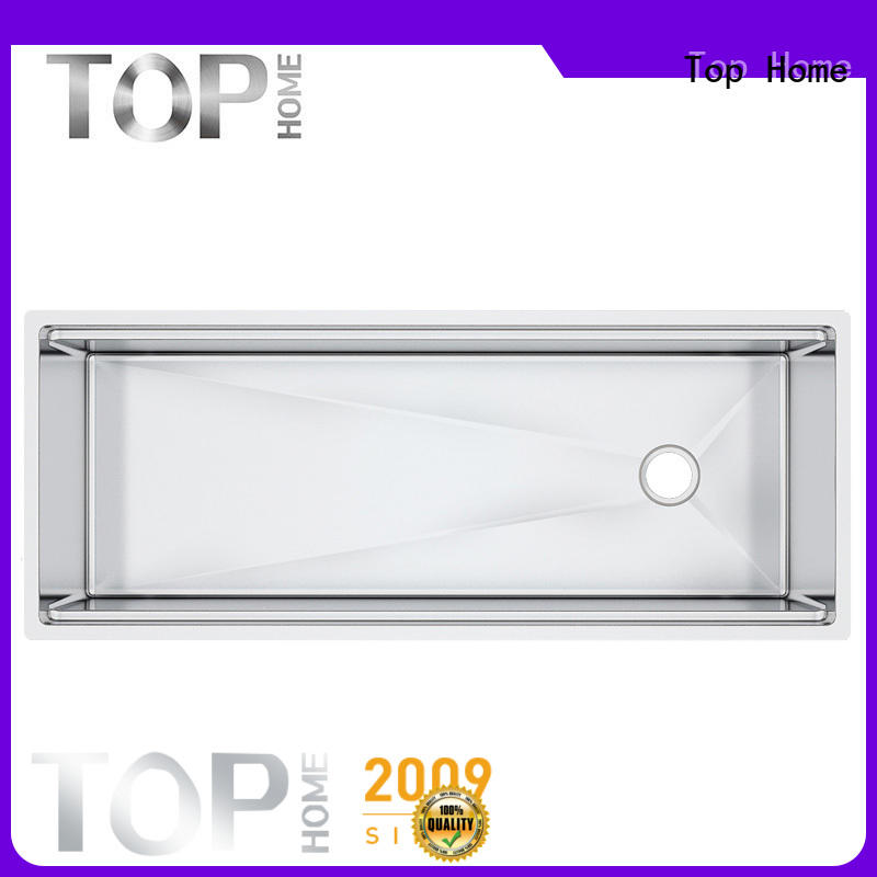 Top Home certification stainless steel sink for sale for restaurant