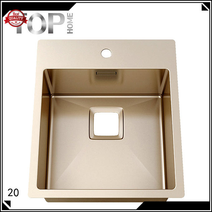 highest quality stainless steel bathroom sink gold for farm