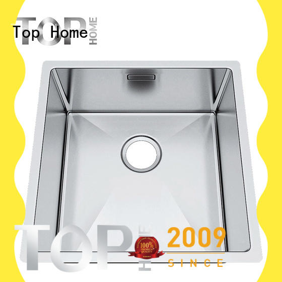 utility commercial stainless steel sink handmade easy installation restaurant