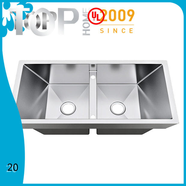 Top Home Stainless steel top mount sink for sale villa