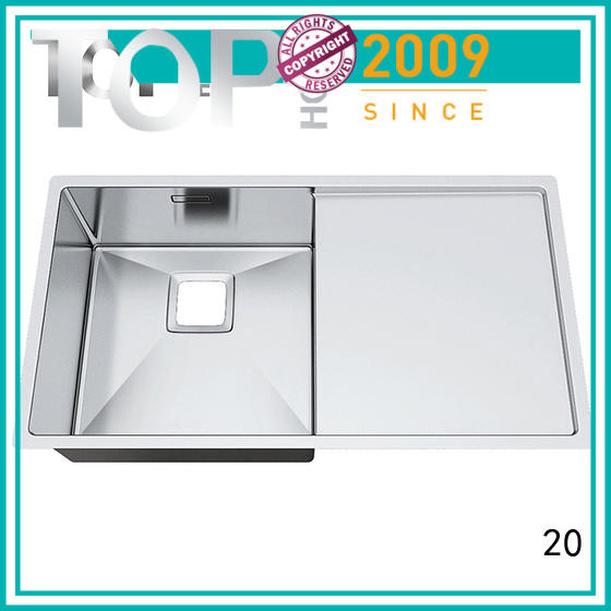 Top Home easy cleanning top mount stainless steel sink online farmhouse