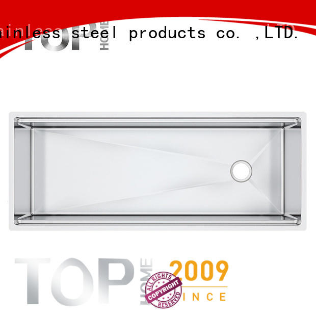 Top Home durable stainless steel sink for sale for countertop