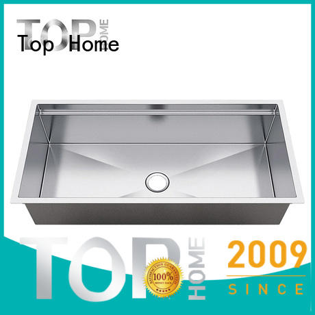 Top Home cupc stainless steel under mount sink for outdoor