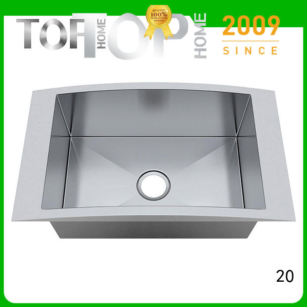 Wholesale square over mount double sinks double Top Home Brand