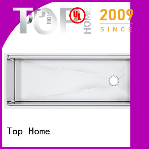 Top Home multifunctional undermount double bowl kitchen sink kitchen for countertop