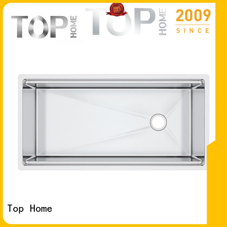 Top Home corner stainless steel kitchen sinks easy cleanning for restaurant