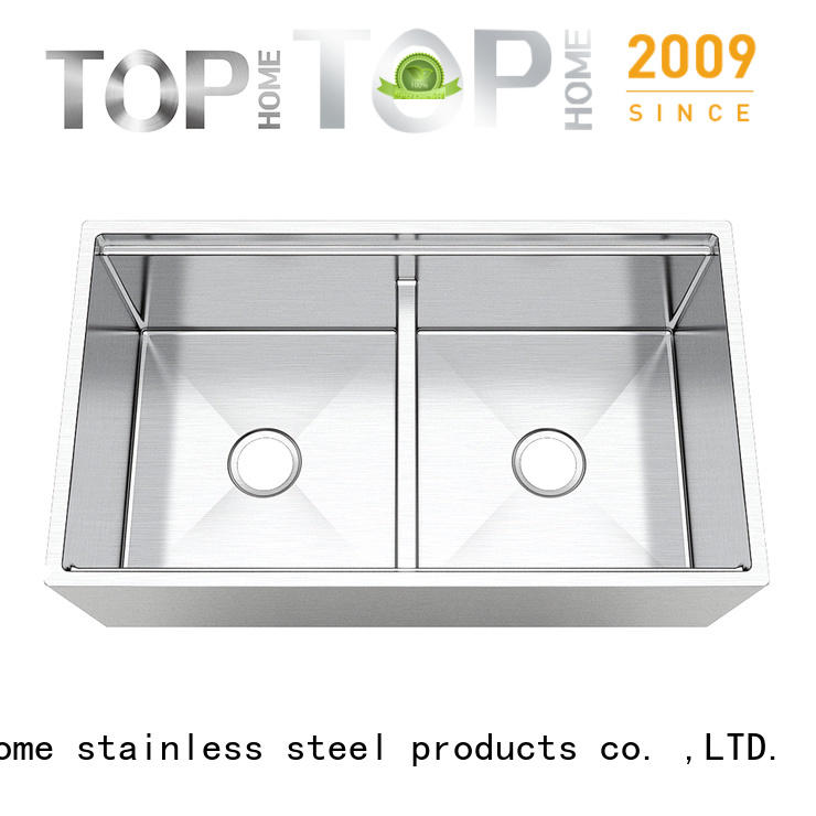 good quality stainless farmhouse sink 1618 dewatering rapidly for countertop