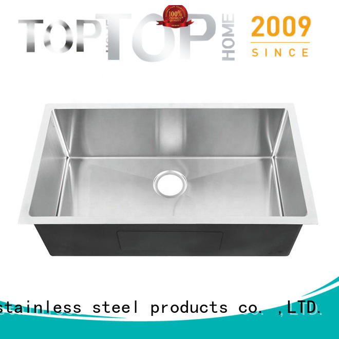 Top Home utility stainless steel bar sink durability for cooking