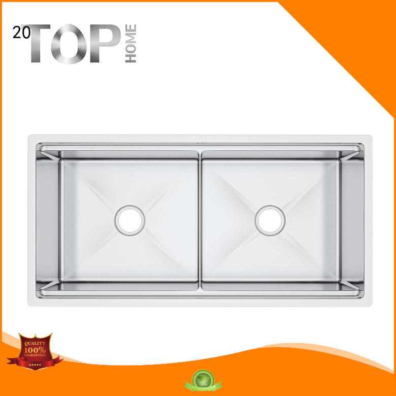 durable stainless double sink for sale for cooking Top Home