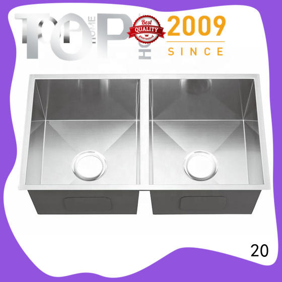 Top Home easy to clean undermount stainless steel kitchen sink highest quality restaurant