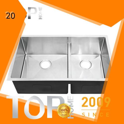 Top Home industrial undermount kitchen sink durability restaurant