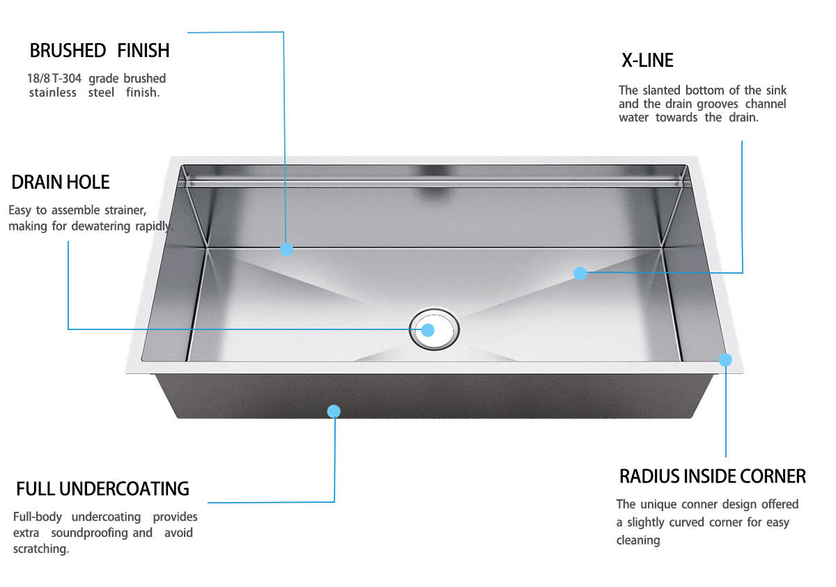 double kitchen sinks stainless steel undermount double bowl online kitchen Top Home